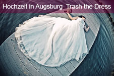 Augsburg Hochzeitsfoto Trash The Dress